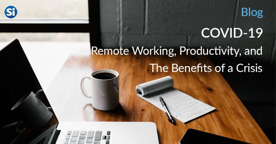 COVID-19 Remote Working, Productivity and the Benefits of a Crisis